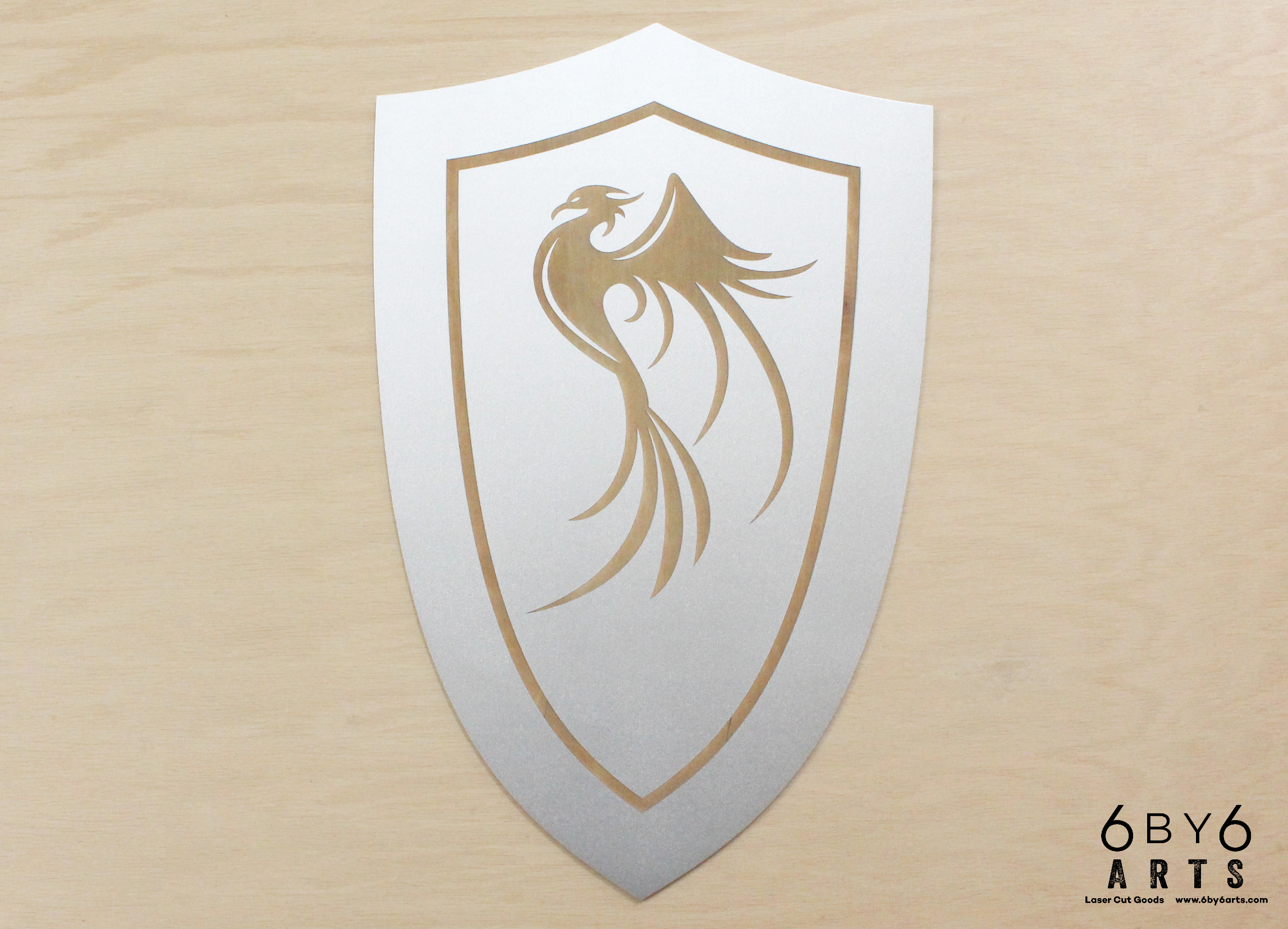 Custom Phoenix Shield