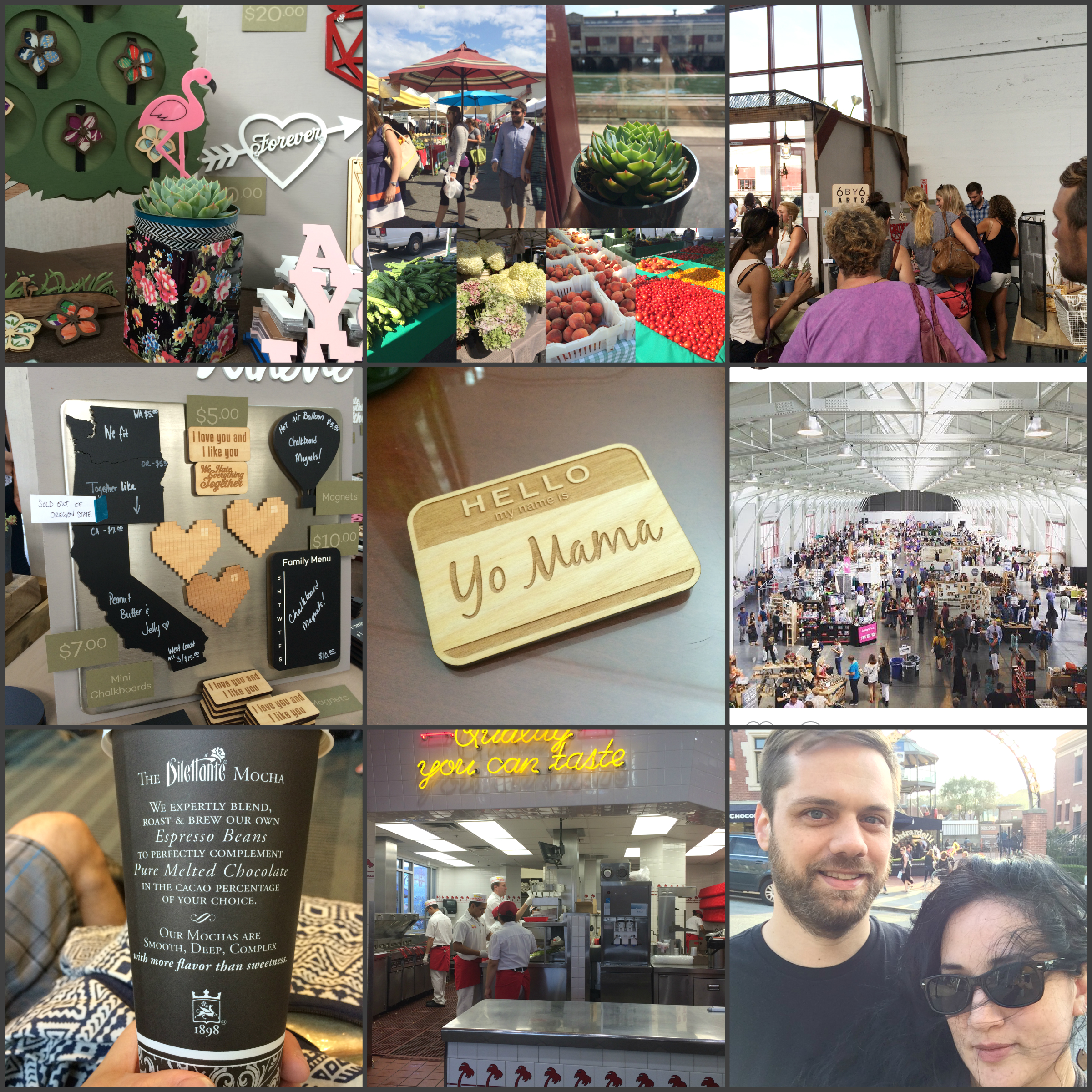 6 by 6 Arts takes on Renegade Craft Fair San Francisco Summer 2015
