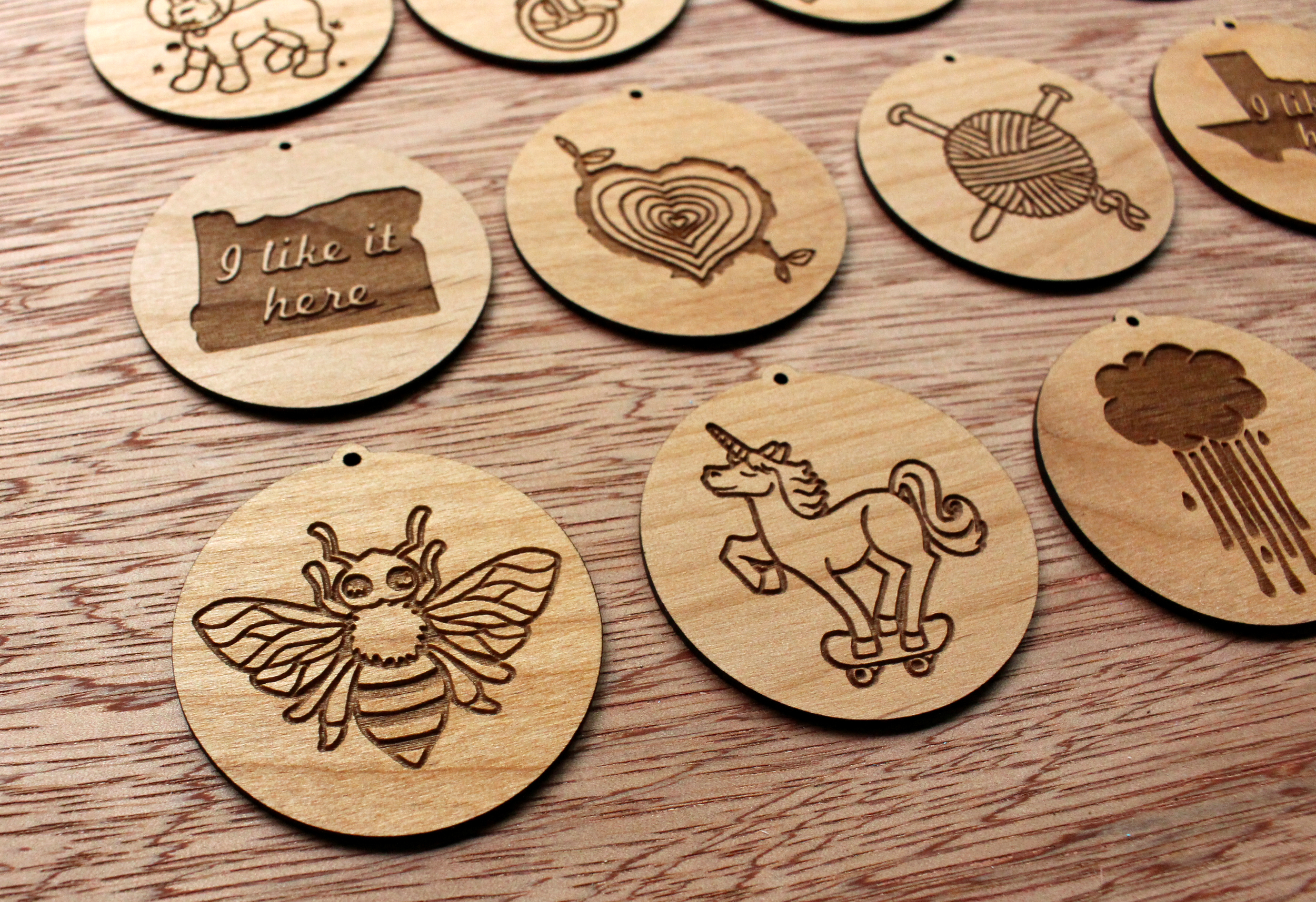 Bread and Badger - Ornaments & Pendants