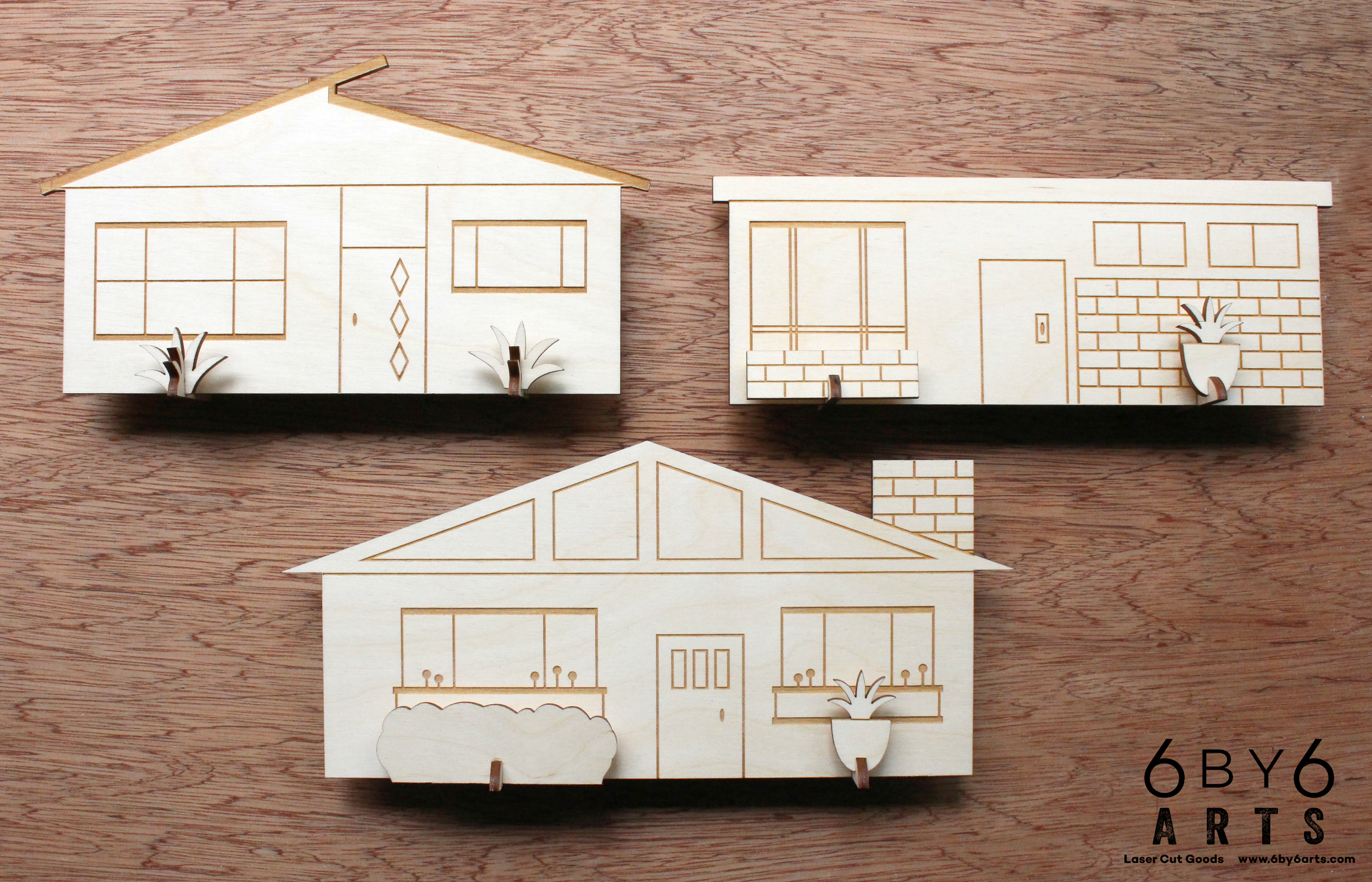 6 by 6 Arts - Pop-up Village Houses