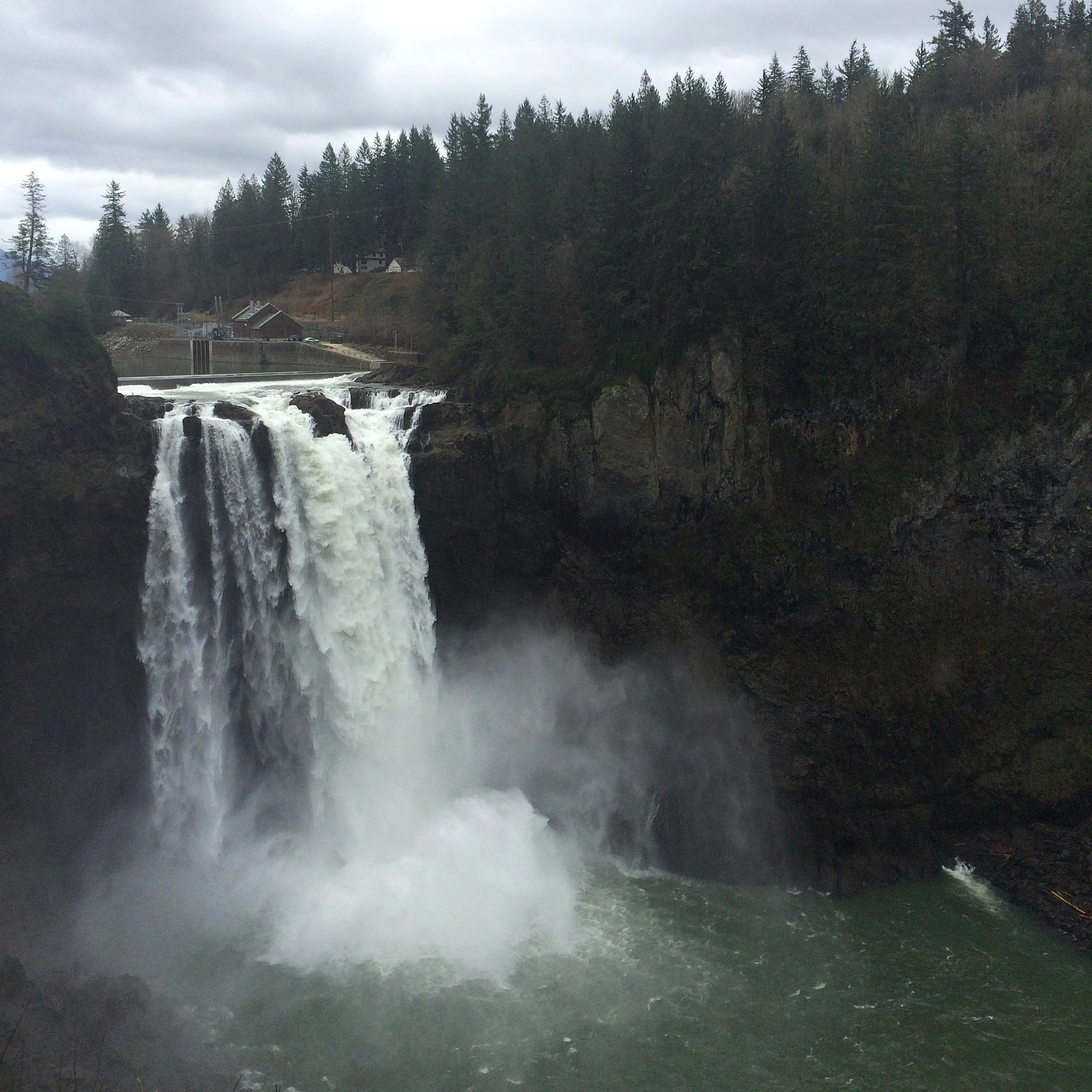 Snoqualmie Falls & The Salish Lodge - Photo by Thea Starr