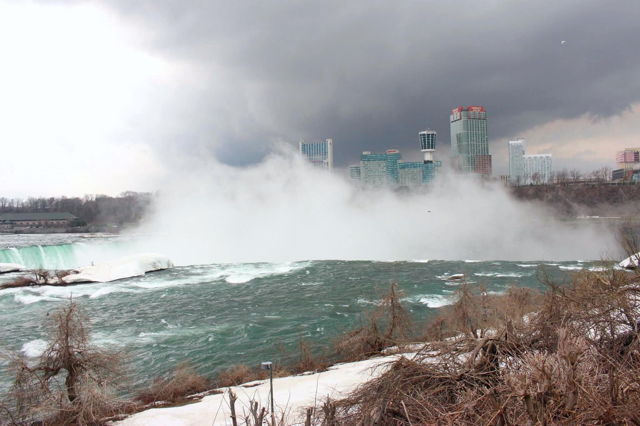 Niagara Falls - New York side.