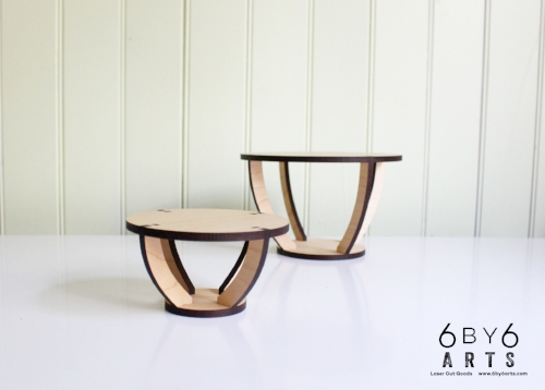 6 by 6 Arts Plant Stands