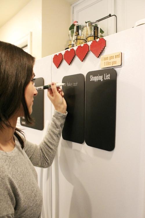 Refrigerator Chalkboards