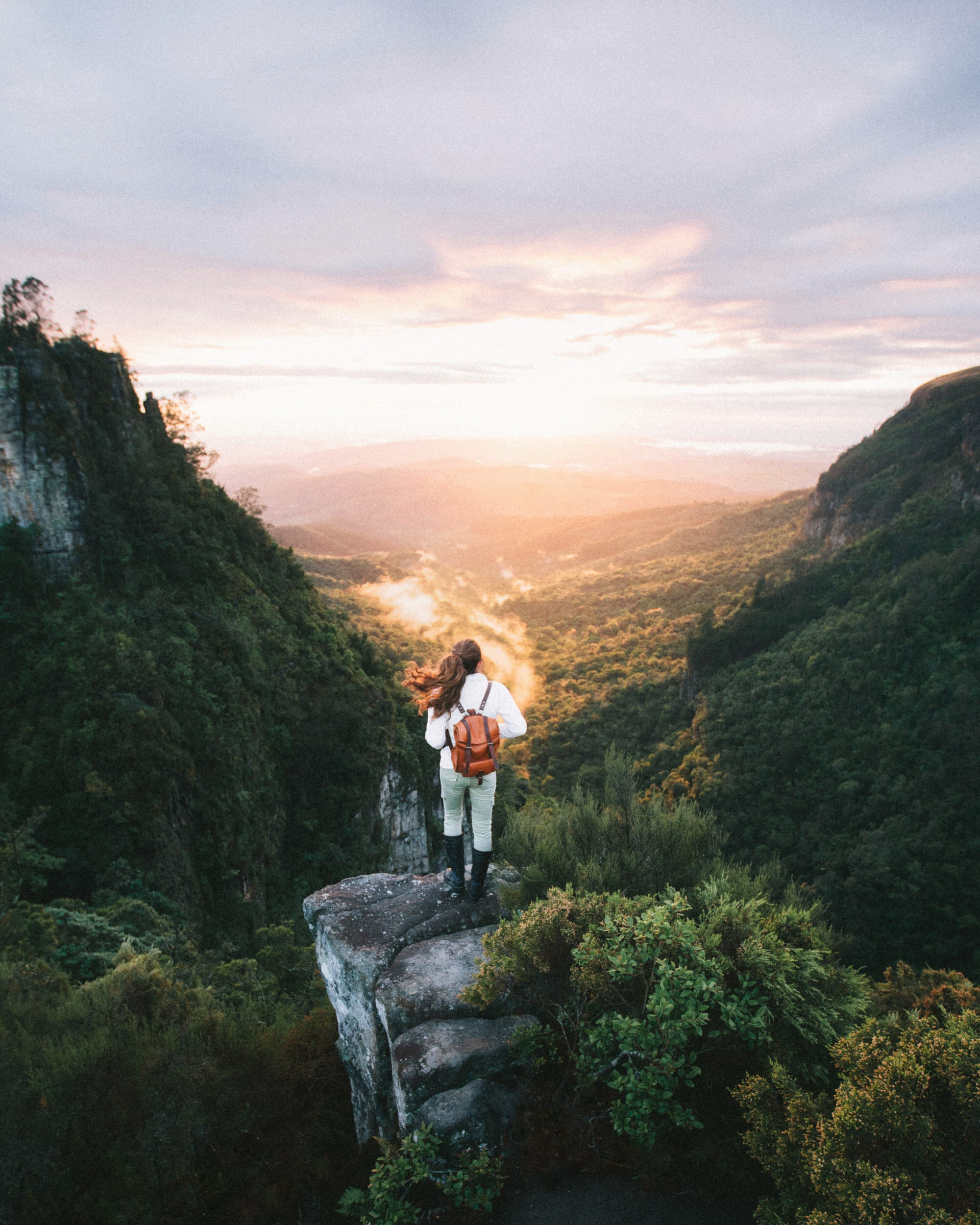 Sunrise at Pinnacle Rock