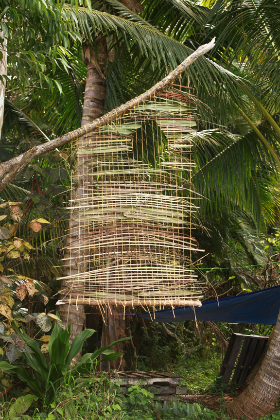 Suspended Weaving