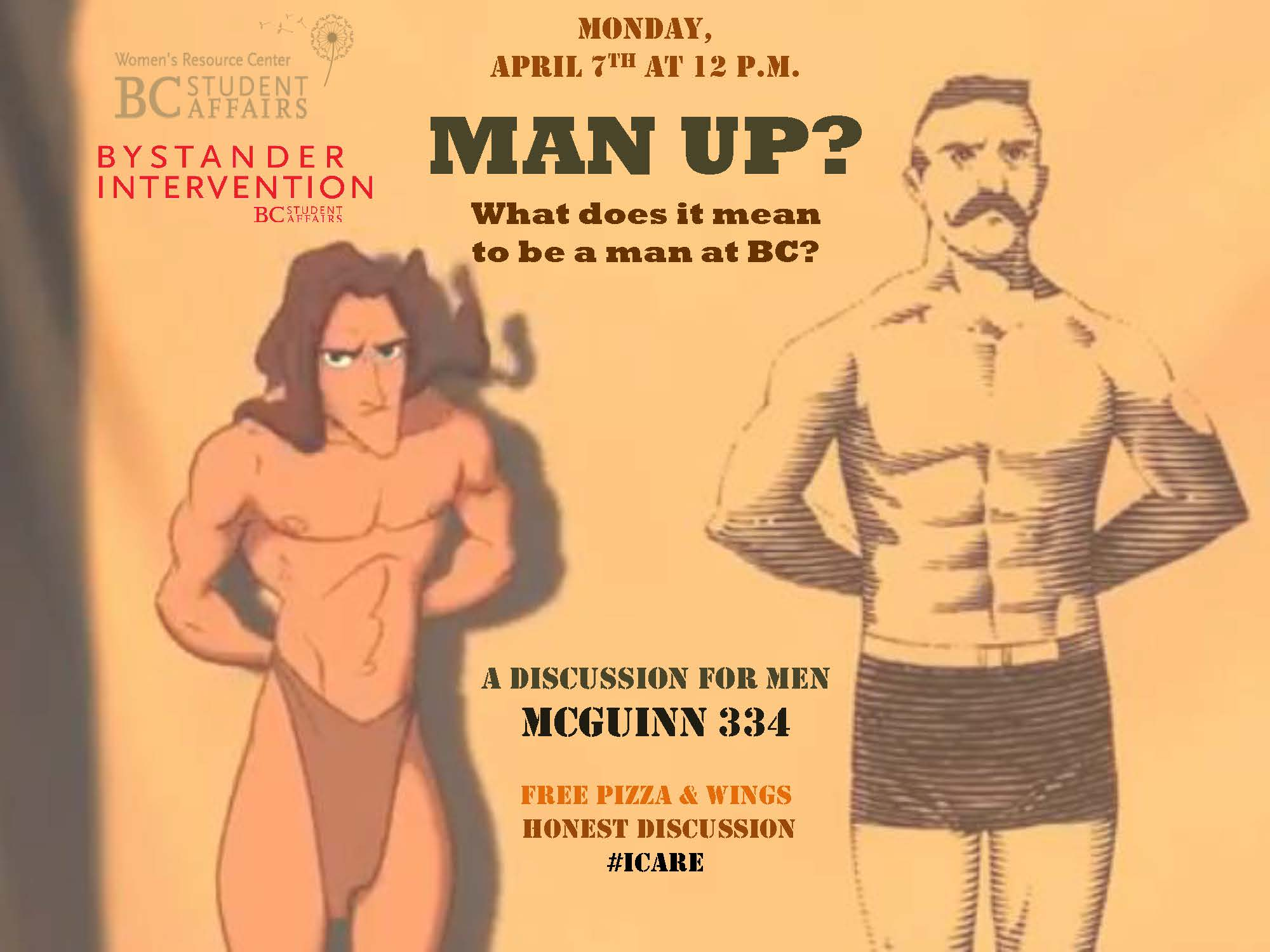 Man Up Flyer - 4-7-14