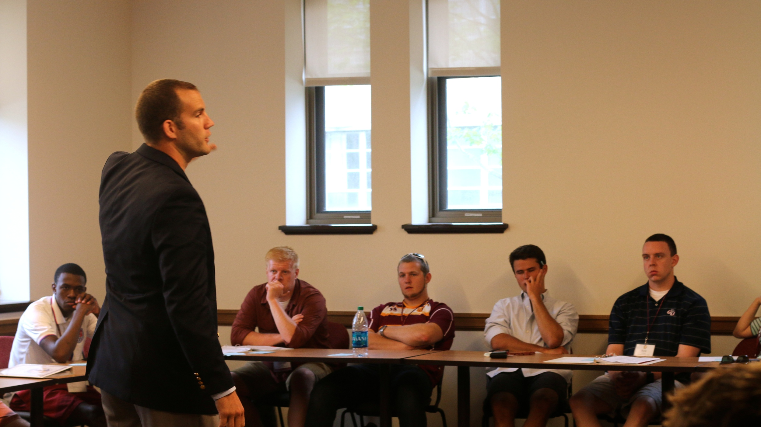 National Jesuit Student Leadership Conference, Boston College, 2014