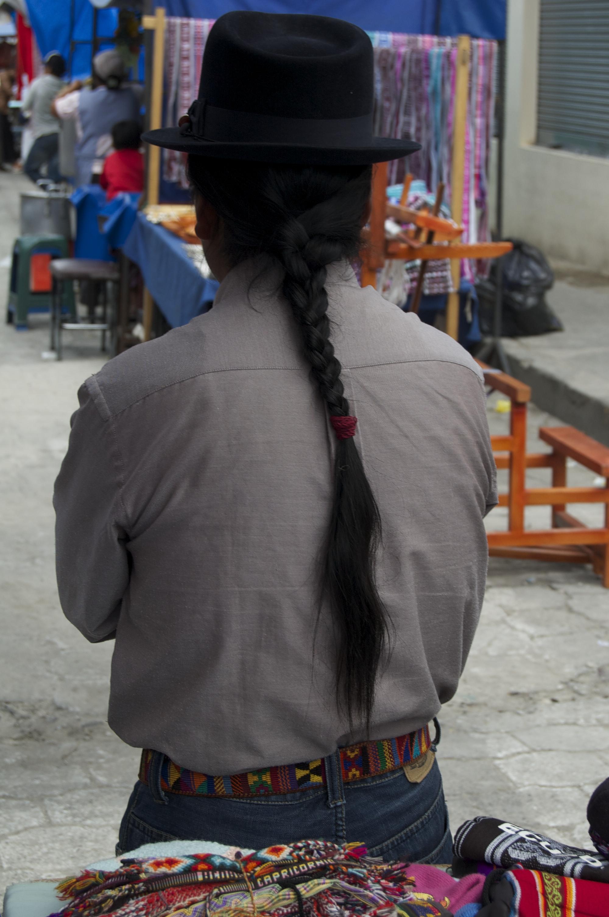 nova black braided terry