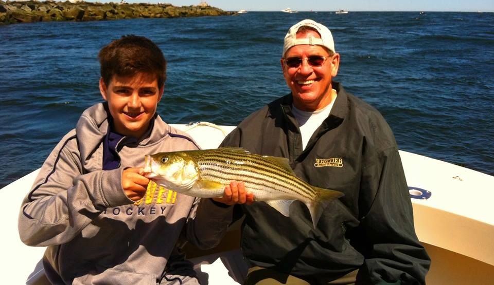 Family Fishing on Manolin Charters