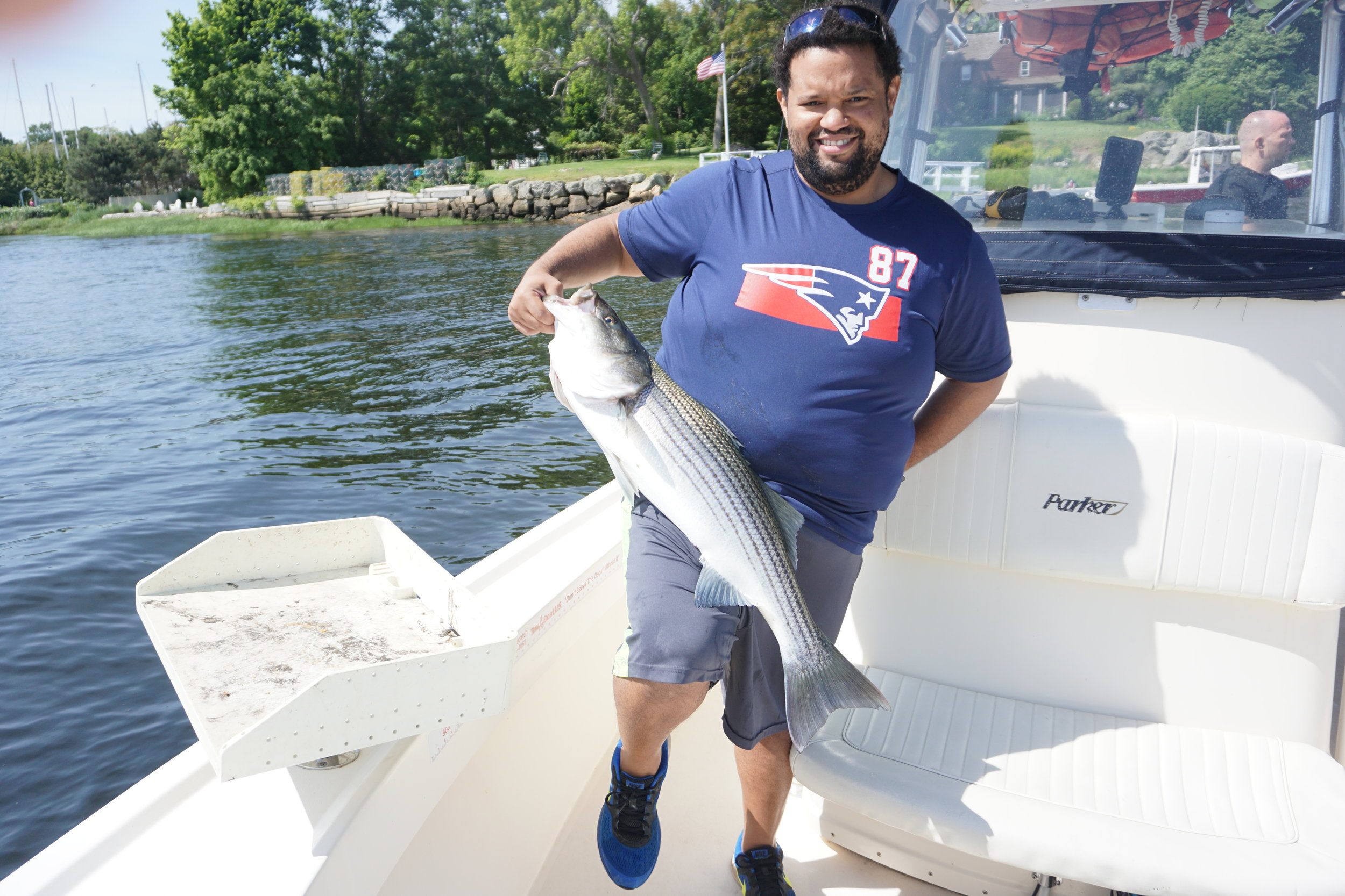 striper fishing report charter