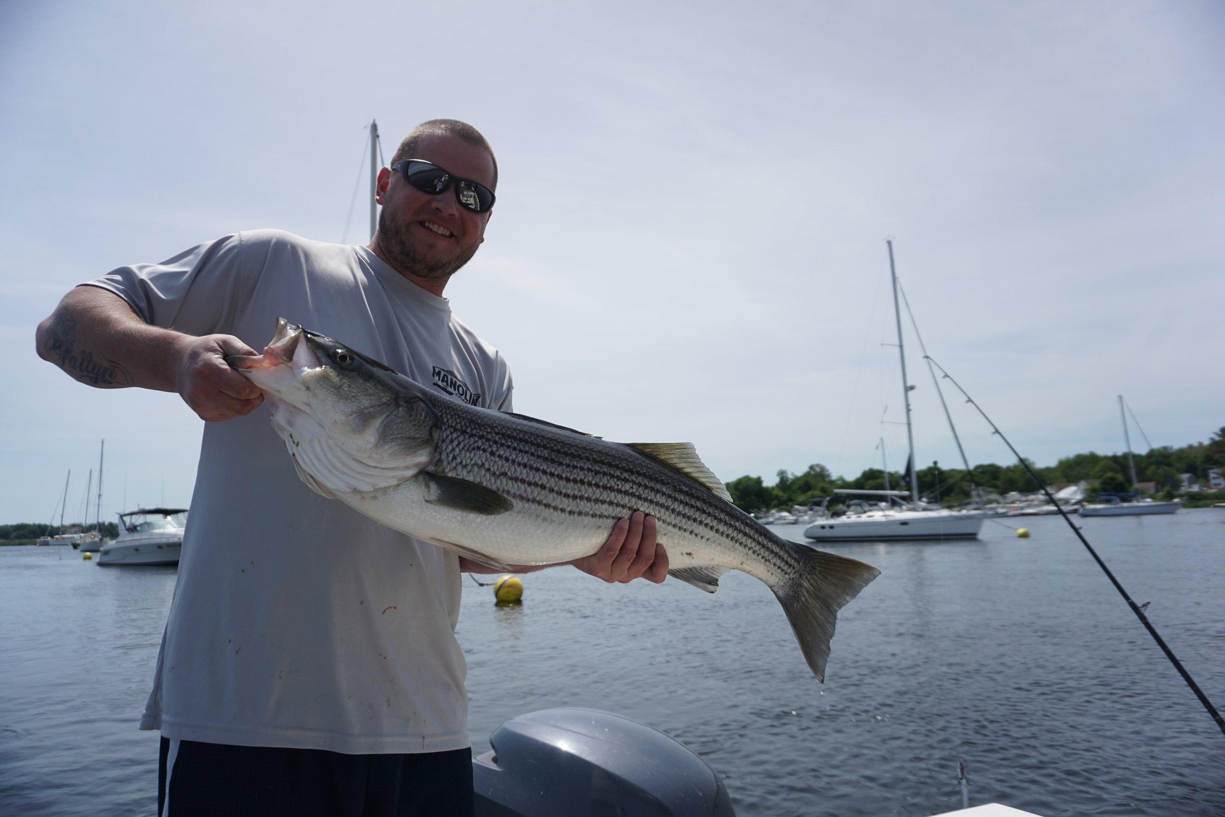 fishing merrimack river charter