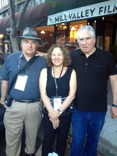 Director William Farley, Producer Janis Plotkin and Jerry Ross Barrish at Mill Valley Film Festival No. 37, 2014