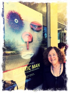 Producer Janis Plotkin at the third MVFF37 screening at the Lark Theater
