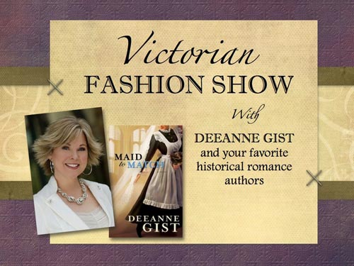 Dee's Victorian Fashion Show was sold out!