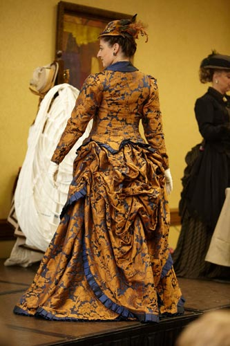 Can you believe Mary made her own costumes? Stunning!