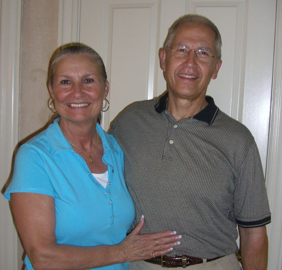 If you have read MAID TO MATCH, you might have noticed I dedicated it to six people who prayed for me daily while I was on deadline. Two of them were Larry & Donna Drake. This is them! They are Greg's aunt and uncle and so, so dear to us.
