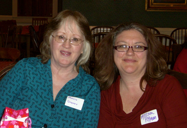 Marcia Gruver & Allison Pittman