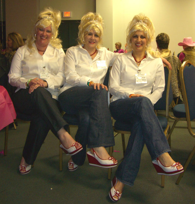 These were Triplet Barbies. Check out those ADORABLE shoes!