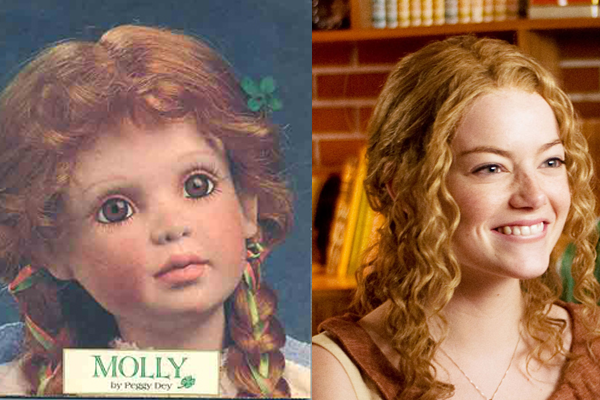 My original inspiration for Constance, and Emma Stone in *The Help*