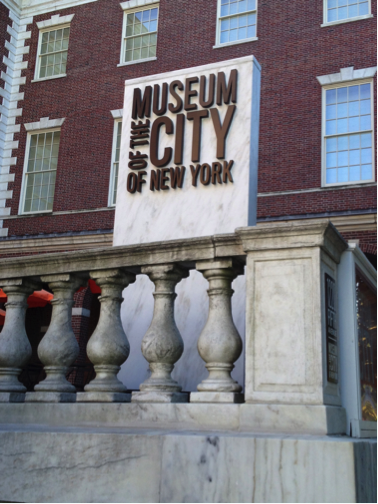 Here's the Museum of the City of New York, where I discovered the Old Maid board game my characters played in Tiffany Girl.