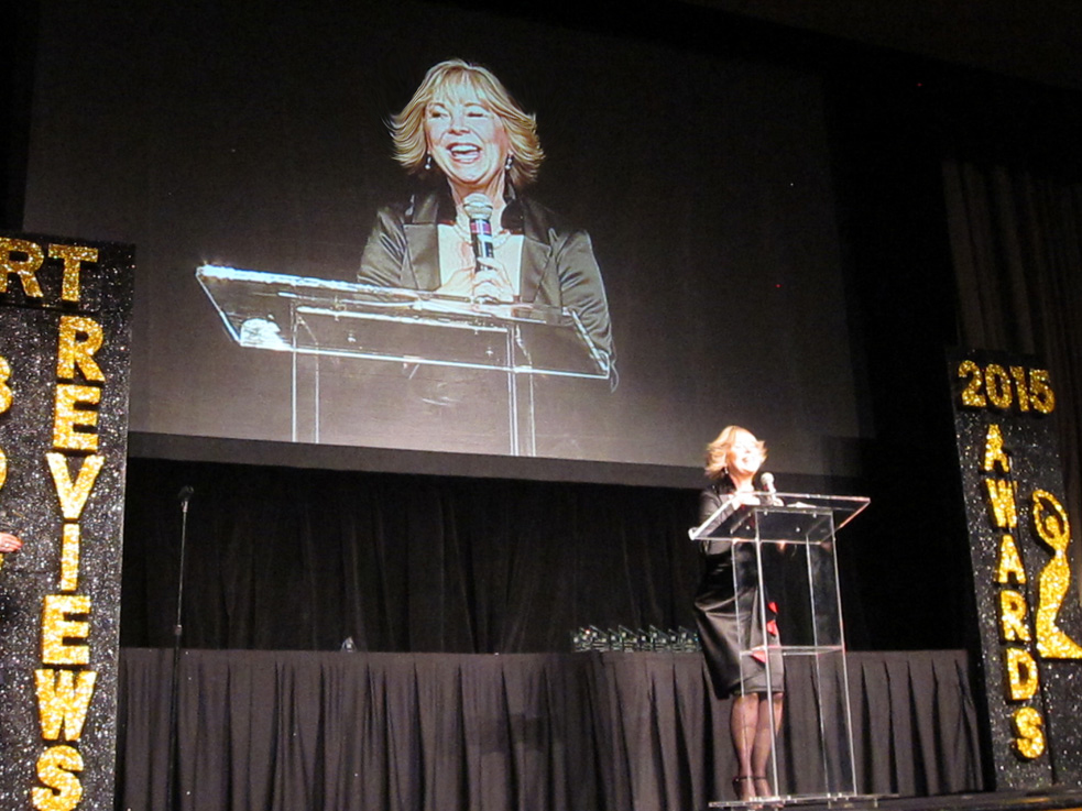 RT REVIEWERS' Acceptance Speech  in Las Vegas, NV  for Best Historical Fiction of the Year