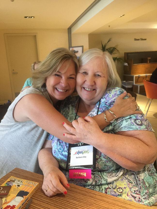 Deeanne and Barbara Vey
