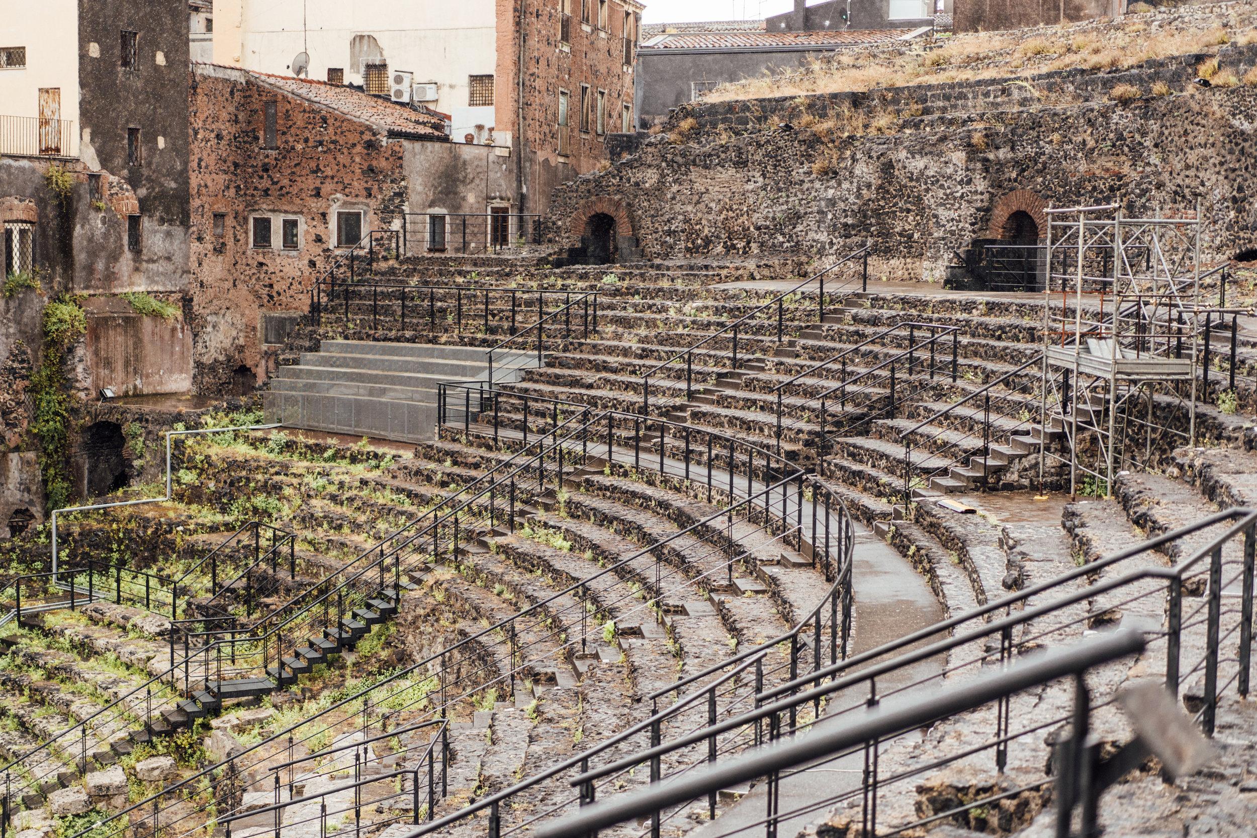 Il teatro romano di Catania