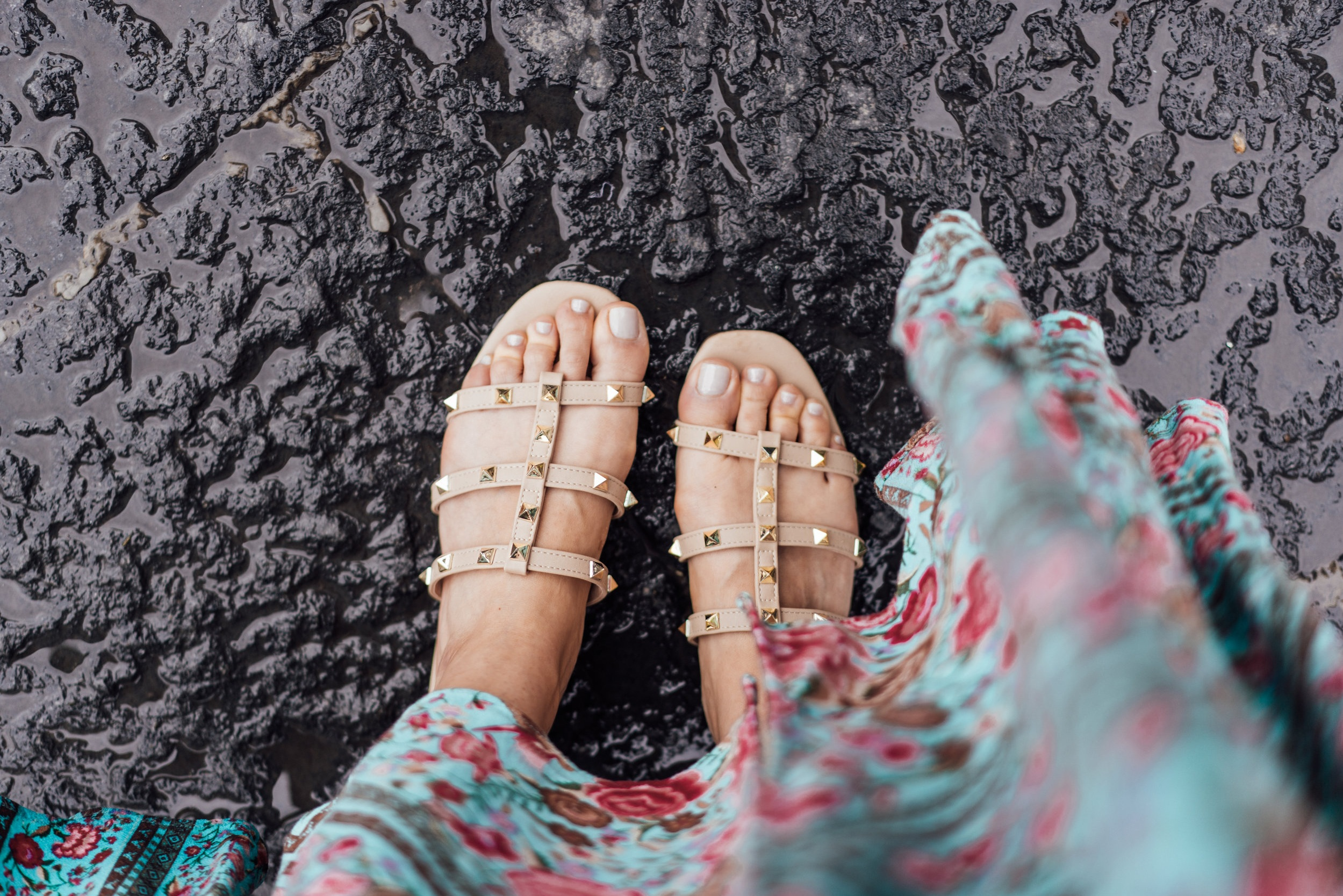 These sandals were made for walking!