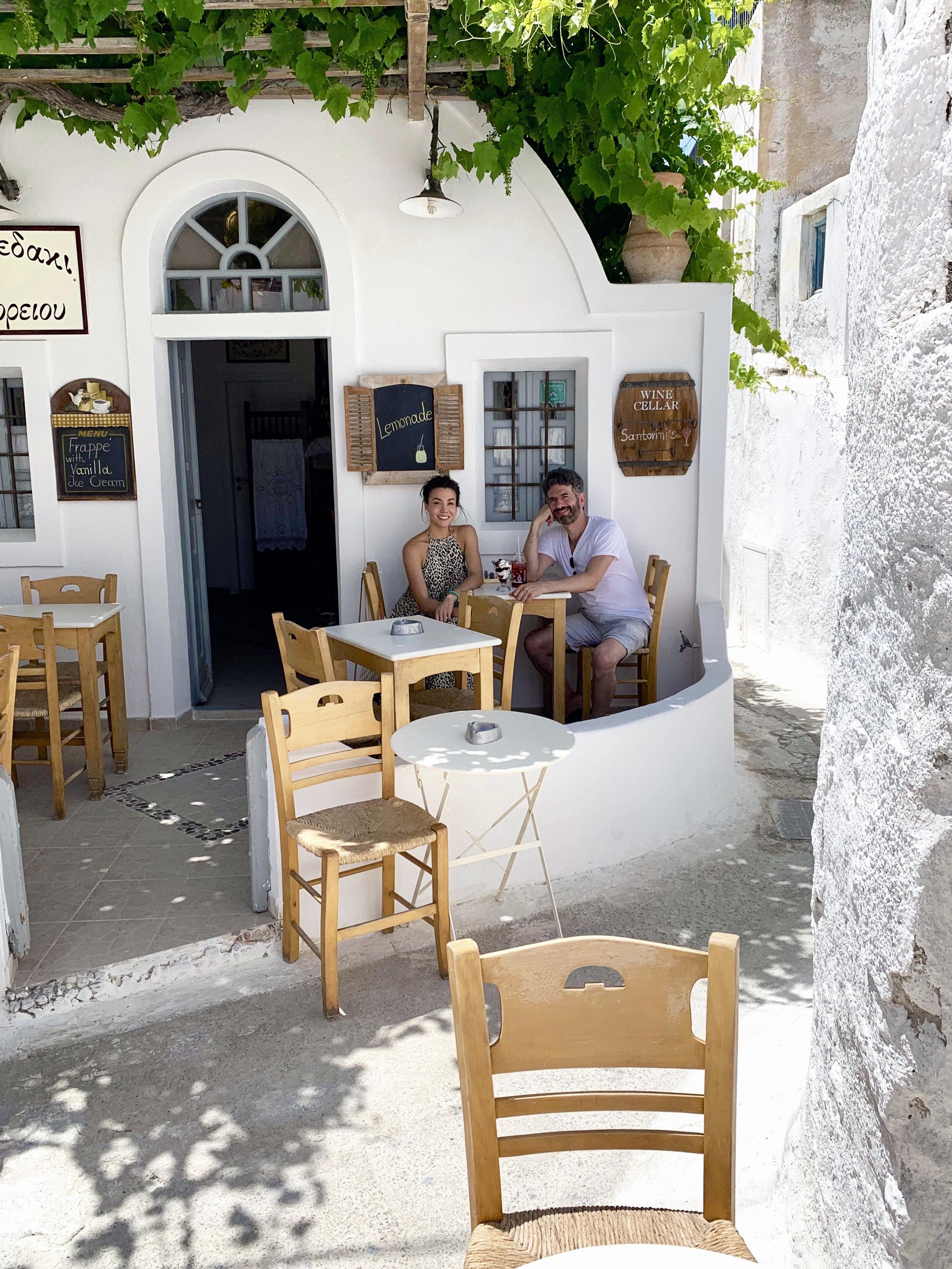 Greek yogurt at To Kafenedaki tou Emboriou