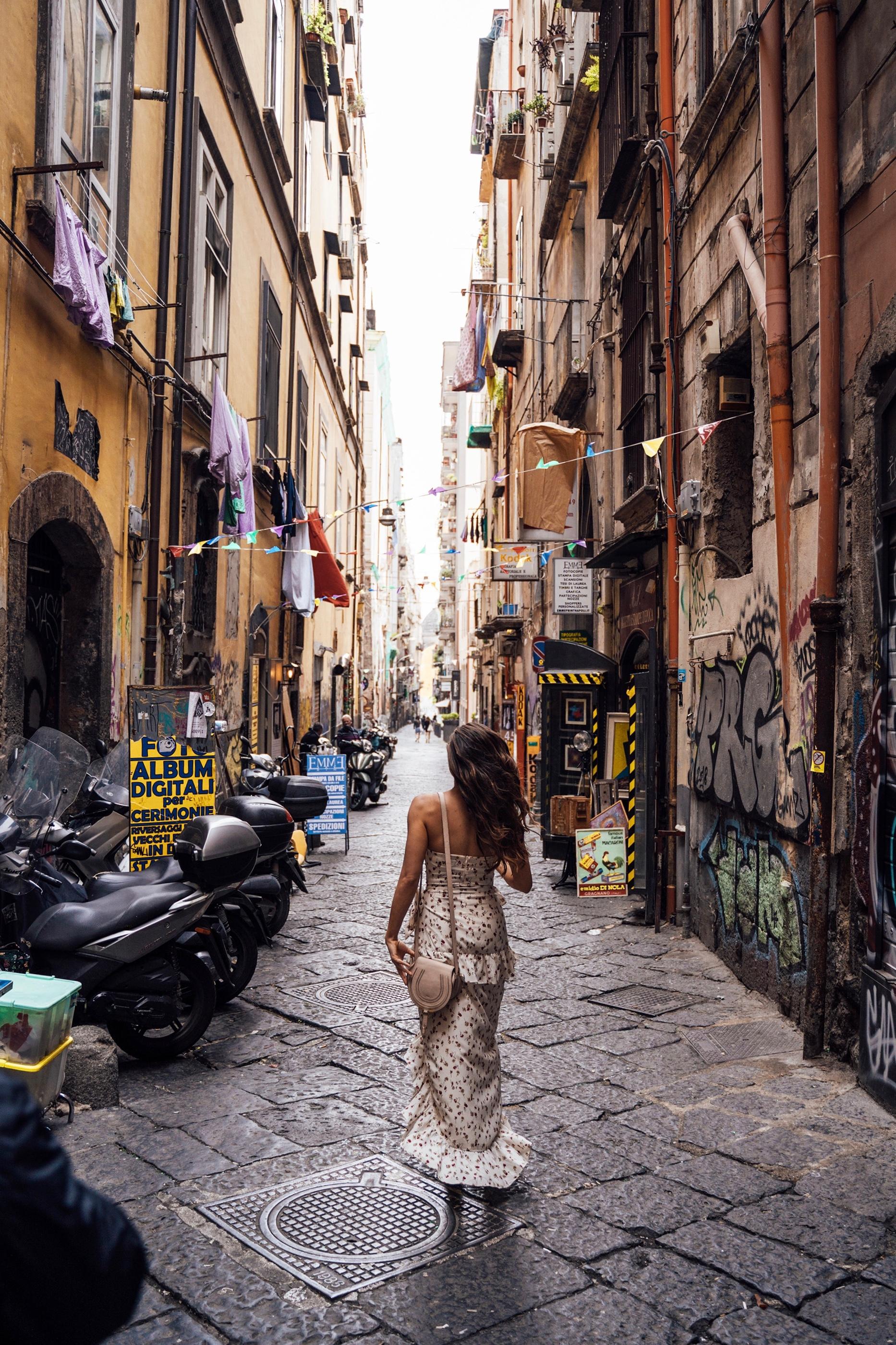 Naples, where every street has a story!