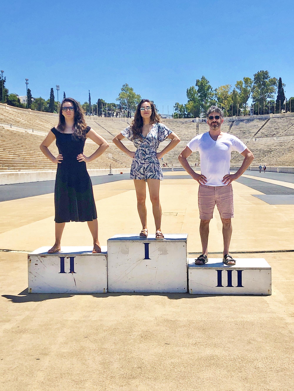Panathenaic Stadium… yes, I am short :)