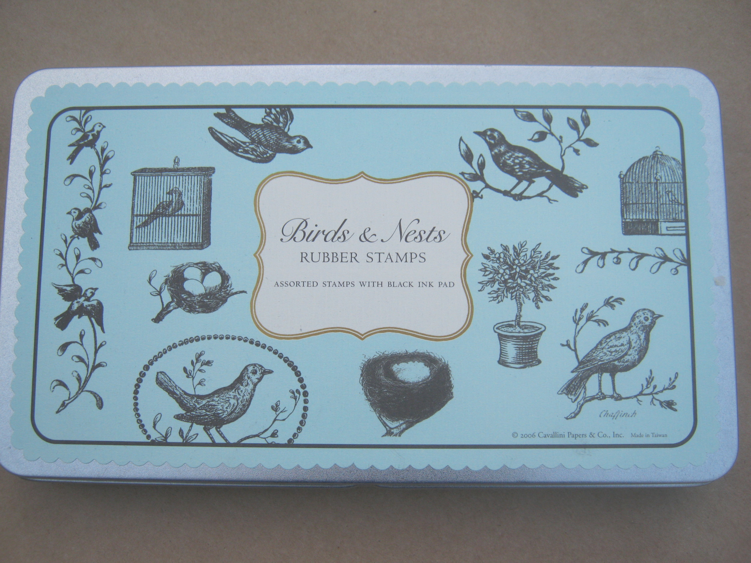 Birds and Nests stamp set