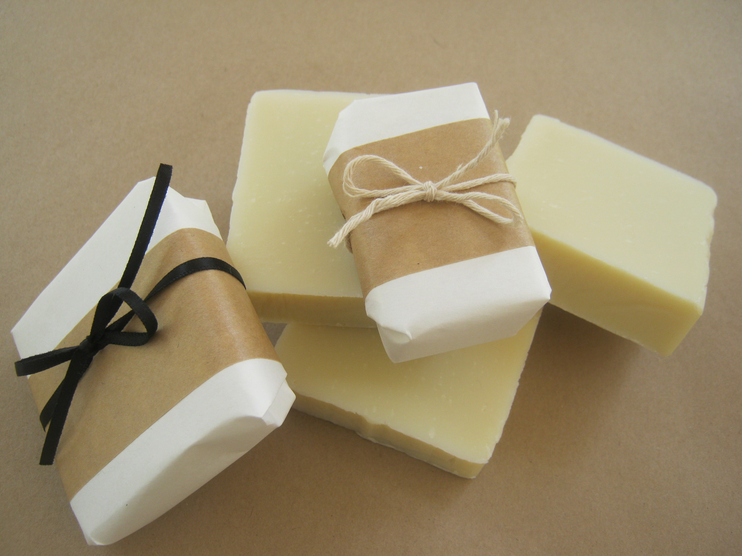 soap....  lavender, lemongrass, honey