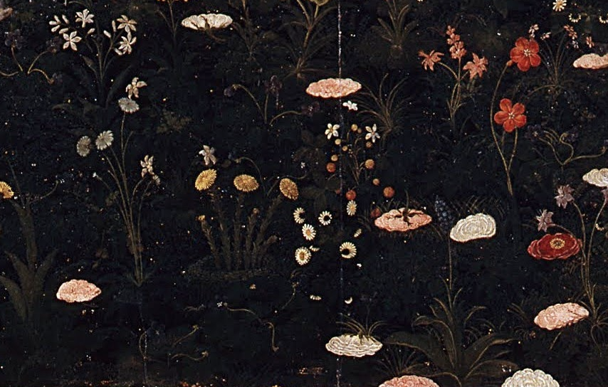 a detail from Botticelli's Primavera