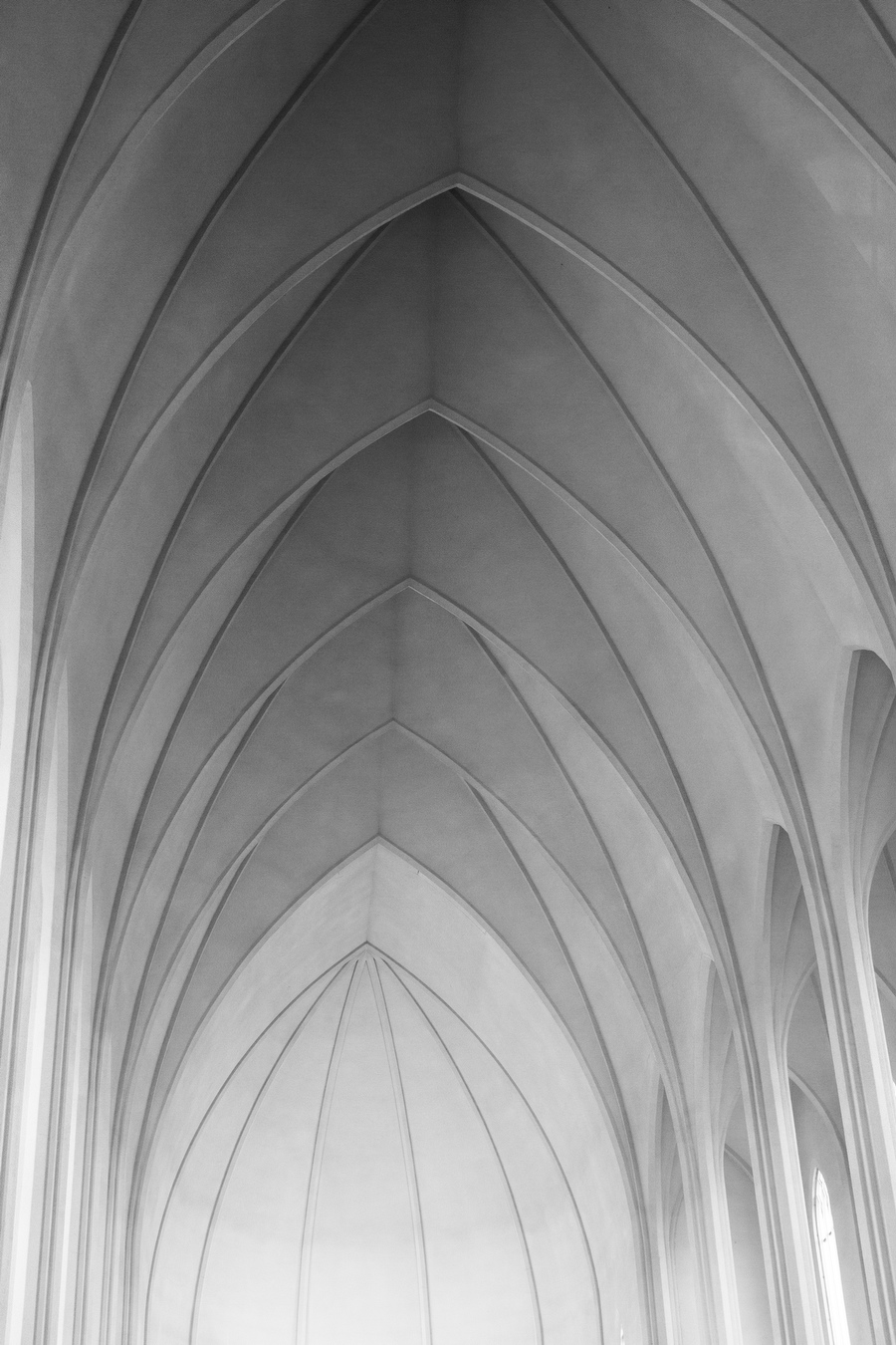 Hallgrímskirkja is a Lutheran parish church in Reykjavík, Iceland. At 73 metres, it is the largest church in Iceland and among the tallest structures in Iceland.