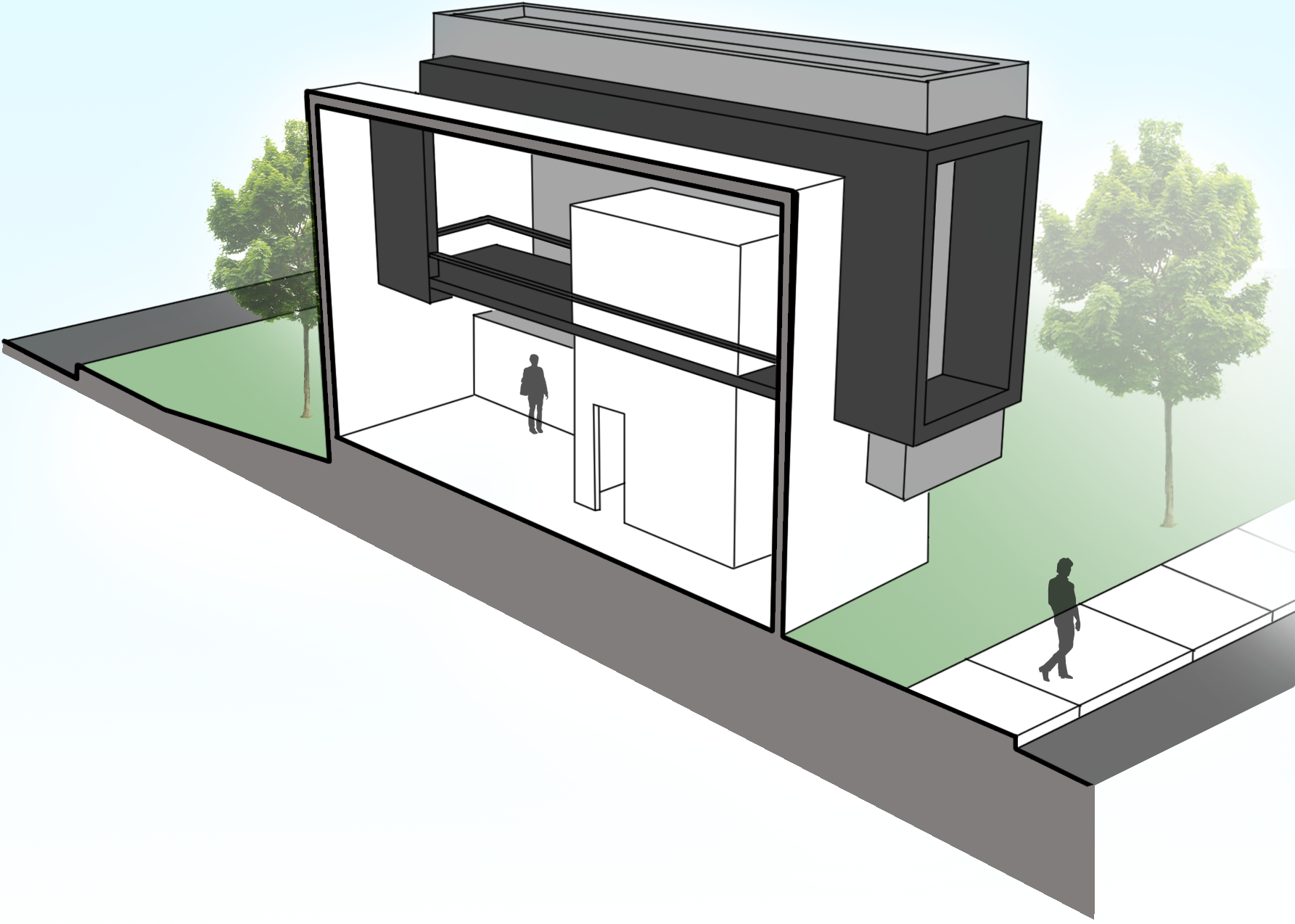 Correction of Row House Render.png