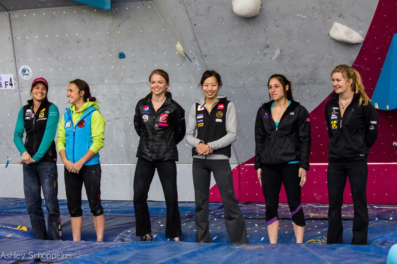 Women's Finalists.  Photo by Ashley Schoppelrei