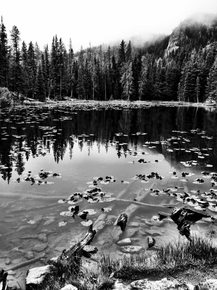 Nymph Lake.