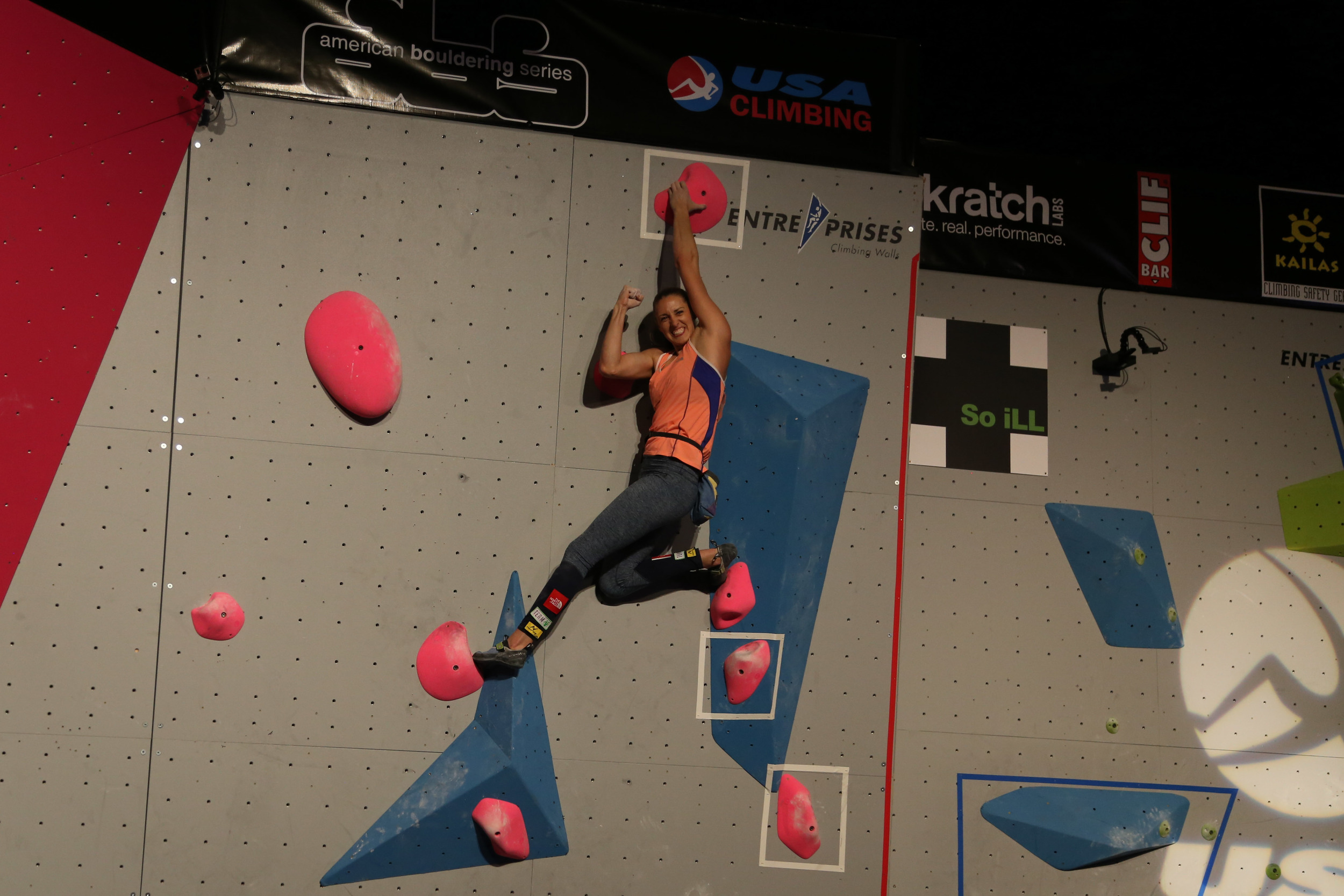 AJ finishing problem 1. Photos by Lizzy Asher & Flannery Shay-Nemirow