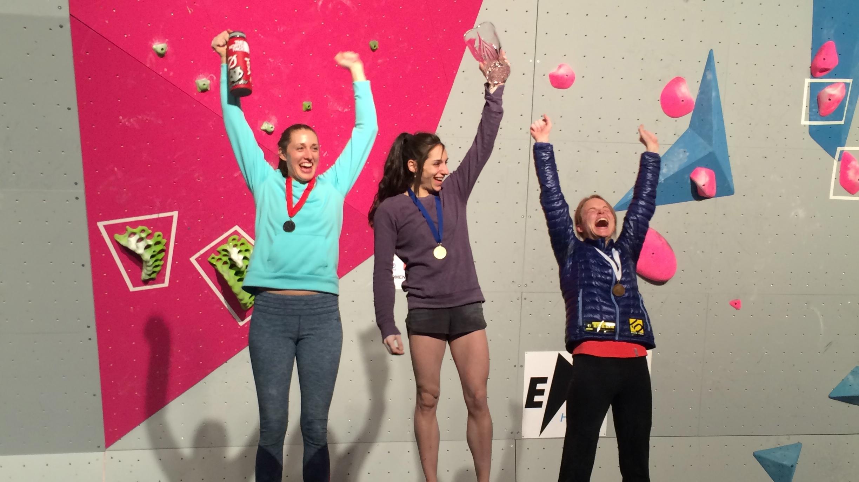 USA Climbing Bouldering Nationals 2015