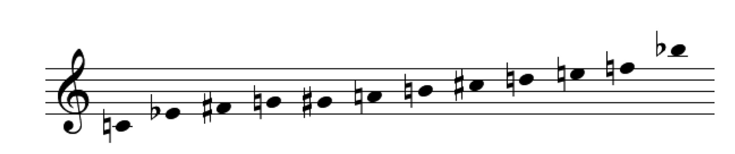 Example 8:   Th  e   fi  xed series of   M  émoriale.