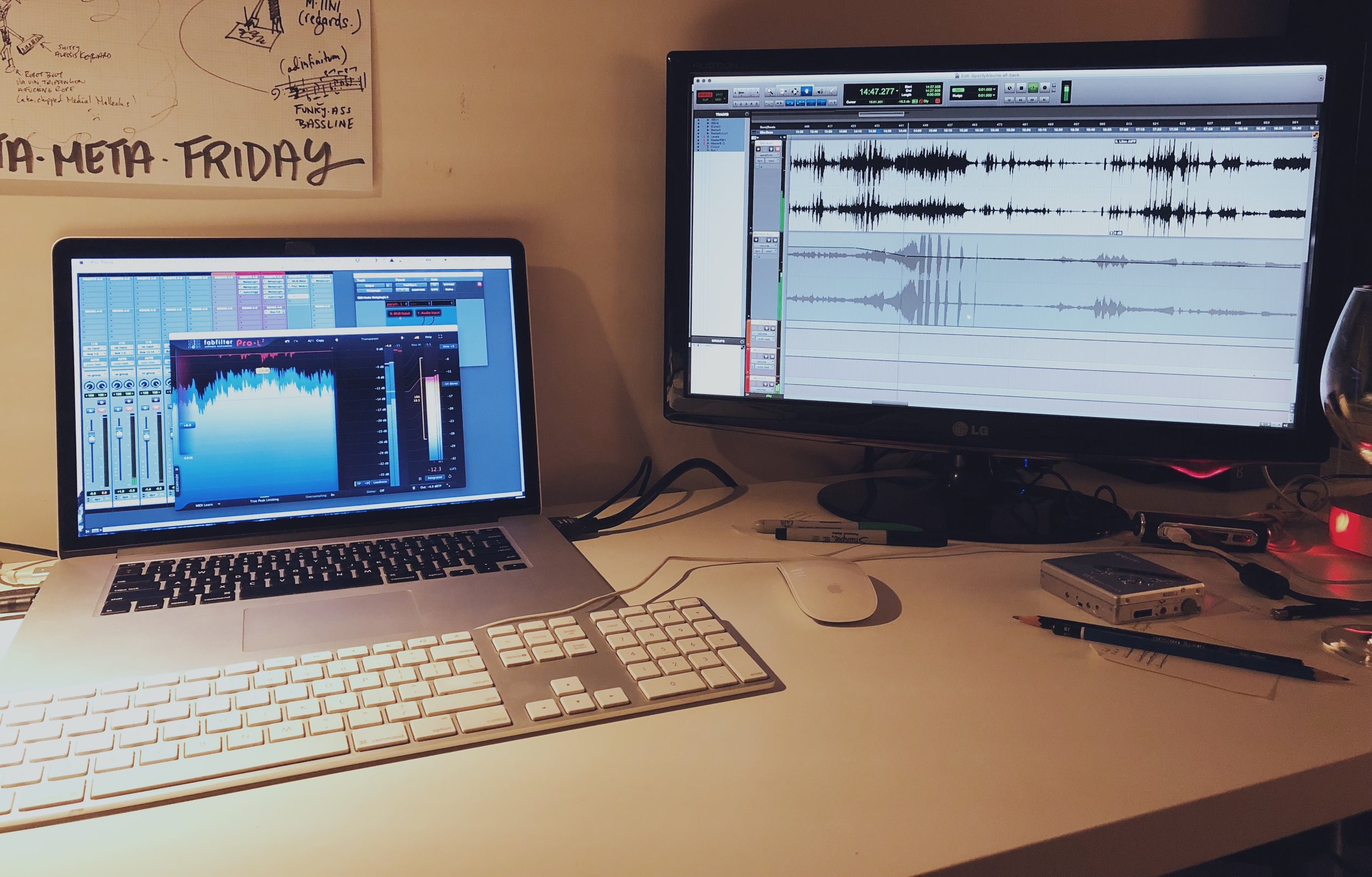 Just doing some mastering here...
