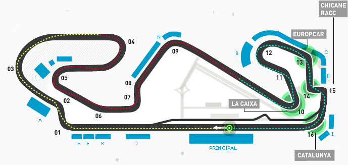 2014 F1 Race Venue: Spain