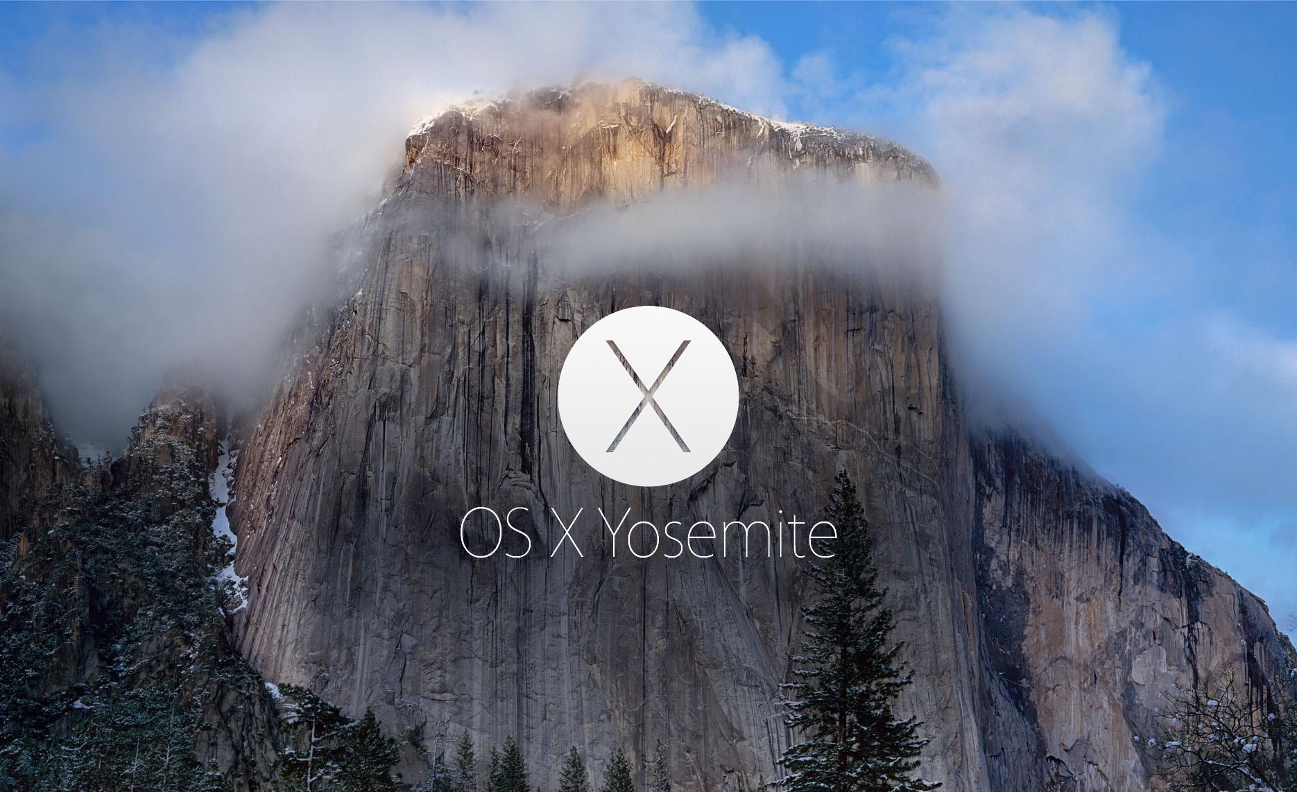 Source: Apple, OSX Yosemite