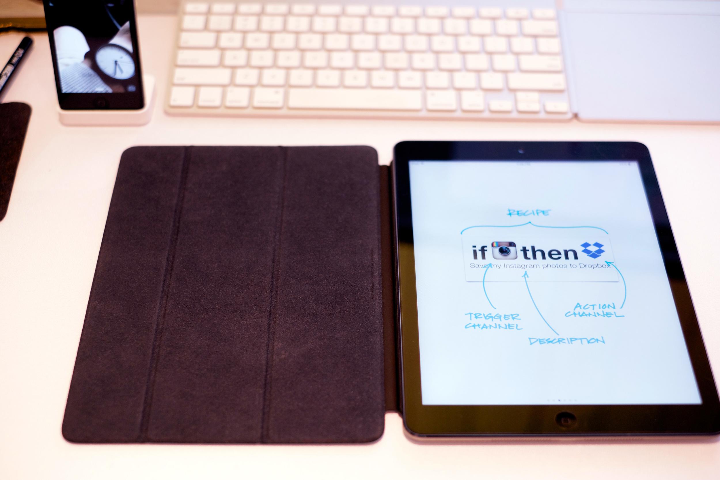 IFTTT iPad