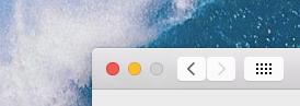 OS X Yosemite Public Beta 3 Settings Show All button