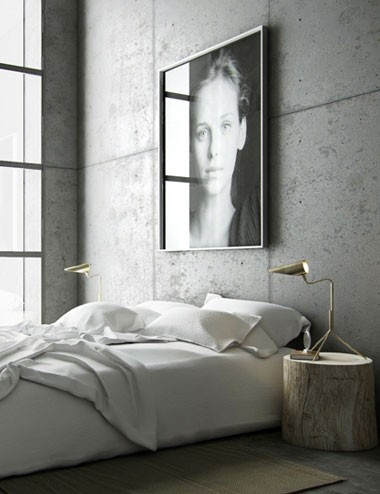 INDUSTRIAL CEMENT BEDROOM ITCHBAN.COM