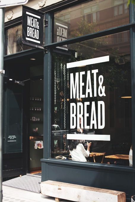 Meat and bread storefront ITCHBAN.com