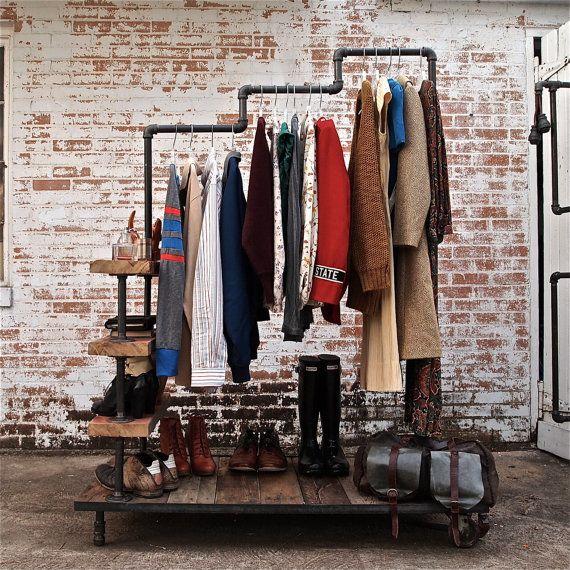 Open hangar closet clothes rack ITCHBAN.com